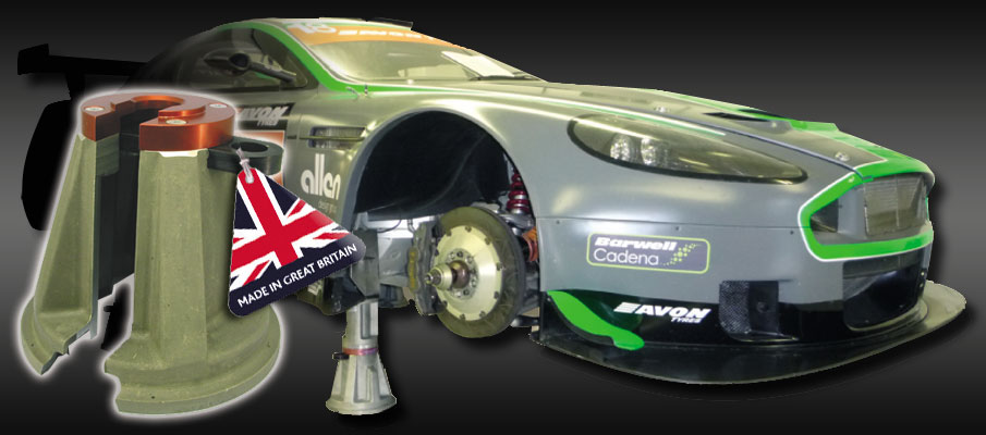 Air Jack Stands - Professional race car products from Ockenden